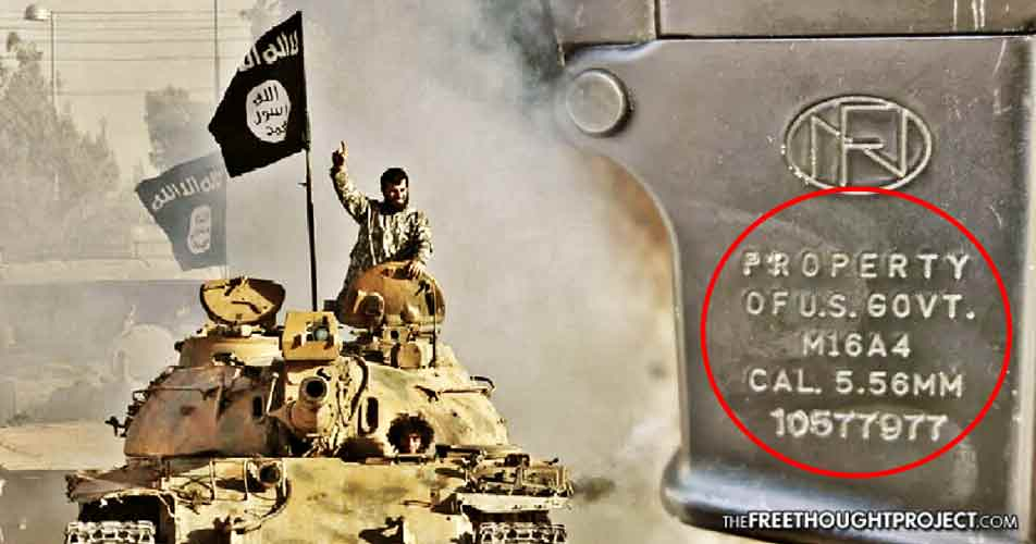 Declassified Docs Prove US Gov't Knowingly Armed ISIS, Claimed Weapons Were 'Lost'