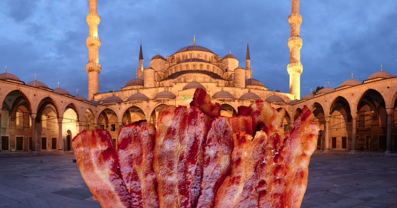 """Report: Security Tightened Around UK Mosques After """"Bacon Hate Crime"""" – MILO NEWS"""