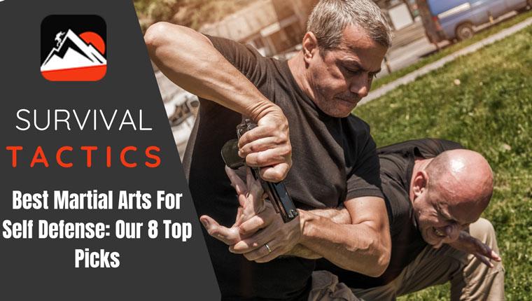 Best Martial Arts For Self-Defense: Our 8 Top Picks - Survivor's Fortress