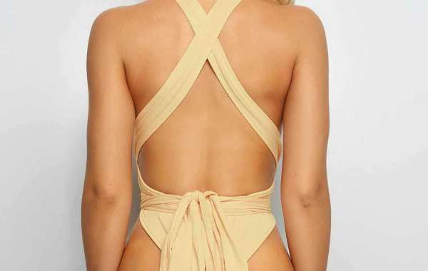 Black Halter Sleeveless Backless Bikinis